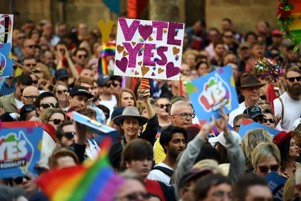All but four members of Australia's lower House of Representatives voted in support of marriage equality