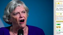 Ann Widdecombe refuses to apologise over race row WhatsApp message