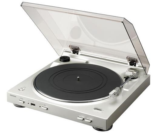 Denon jumps in the vinyl-to-MP3 turntable game with DP-200USB