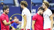 'Beautiful moment': US Open runner-up's incredible act in defeat