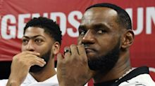 Sources: Anthony Davis wearing LeBron's No. 23 with Lakers on hold