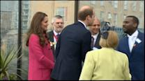 Duchess Kate Steps Out Before Due Date