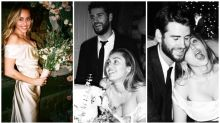 Miley Cyrus reveals new photos from her and Liam's intimate wedding