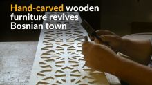 Bosnian family brings historical wooden craft back to life