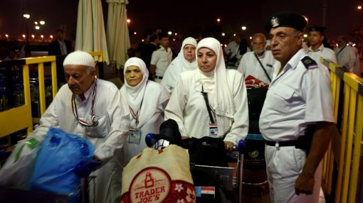 In Egypt, ecstatic pilgrims start journey to Mecca