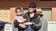 Chrissy Teigen hits back at Instagram 'parenting police' over fears she'd 'break daughter's legs'