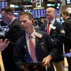 Stocks rise on trade optimism, pound strengthens