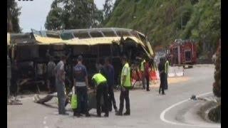 Genting bus crash: Driver had 16 summonses but couldn't be blacklisted