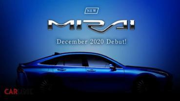 未來即將到來,TOYOTA Mirai大改款量產版12月發表!