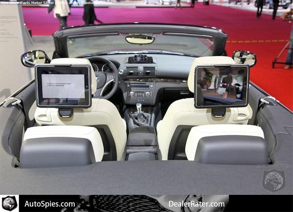BMW shows off first 'official' iPad integration, convinces us to go aftermarket