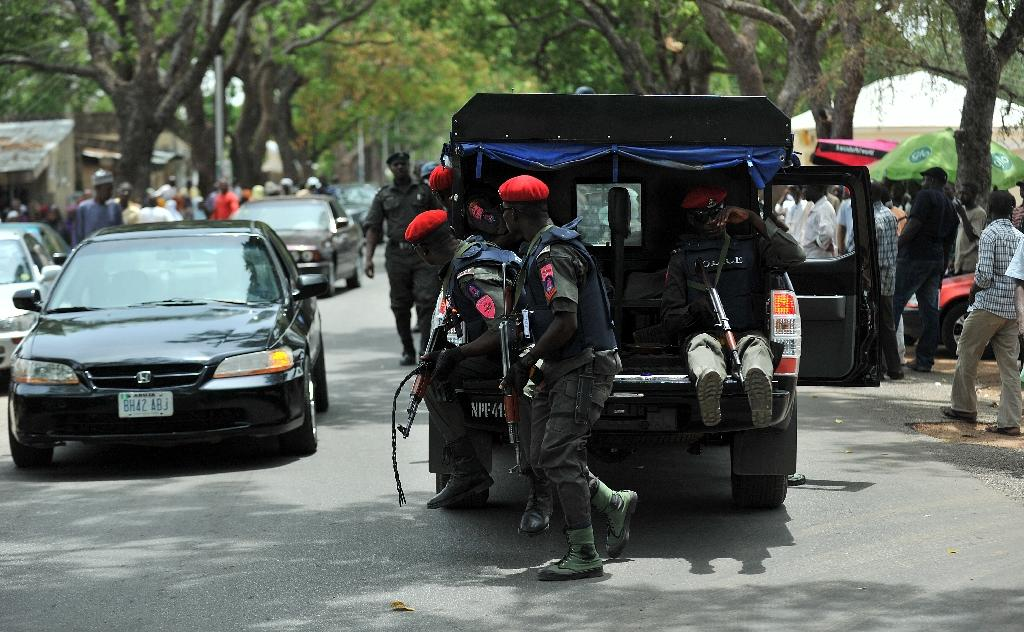 Nigerian security forces in Bauchi in 2011 (AFP Photo/Tony Karumba)