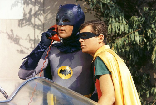 Adam West as Batman and Burt Ward as Robin in Batman. (Photo: Silver Screen Collection/Getty Images)