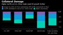 Tensiones comerciales estancan crecimiento económico mundial