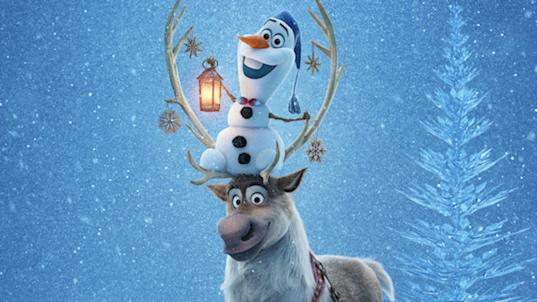 Exclusive first look at 'Olaf's Frozen Adventure' poster