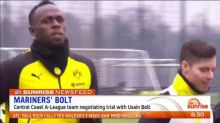 News Feed: Usain Bolt negotiating trial with Central Coast Mariners
