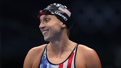 At last, Ledecky snags her first gold in Tokyo