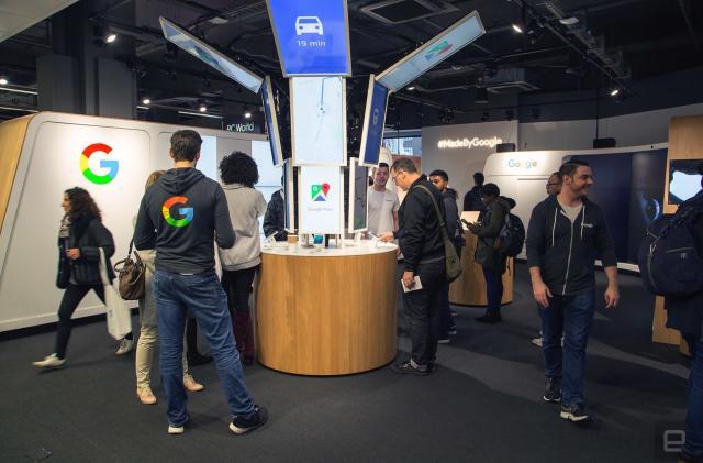 Google begins its big Pixel push in the UK