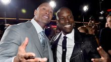 Dwayne Johnson Shades Tyrese Gibson While Teasing 'Fast' Solo Movie Spinoff: '#CandyAssesNeedNotApply'