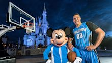 The Orlando Magic will wear Disney ads on their jerseys next season
