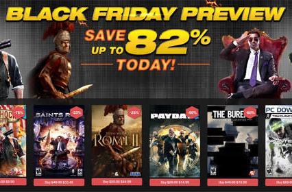 GameFly pre-Black Friday deals discount PC digital BioShock Infinite, Saints Row 4