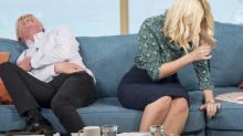 Holly Willoughby Experiences Ultimate Wardrobe Malfunction While Visiting No. 10