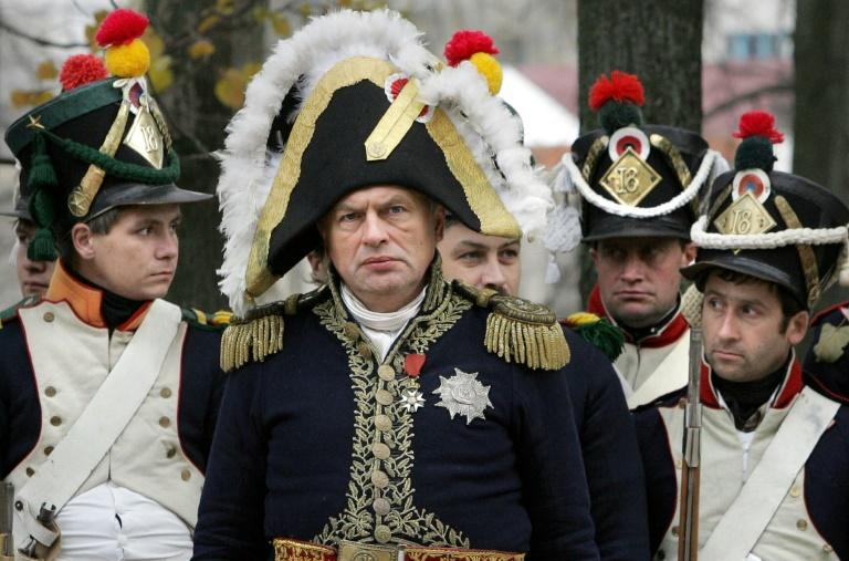 History lecturer Oleg Sokolov liked to dress up as French emperor Napoleon