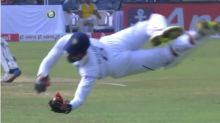 Watch :Unbelievable catch ! Saha takes two magnificent catches on day 4 of 2nd Test vs South Africa