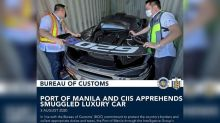 Customs operatives seize smuggled McLaren 620R