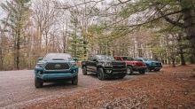 Autoblog Midsize Truck Comparo | Toyota Tacoma, Ford Ranger, Chevy Colorado, Jeep Gladiator