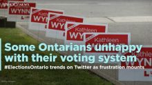 Ontario voters express displeasure with first-past-the-post system
