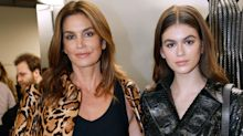 Kaia Gerber And Cindy Crawford Strike A Pose At Charity Event Following Hectic Fashion Month