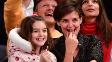 "Katie Holmes calls quarantining with Suri Cruise ""such a lesson"""