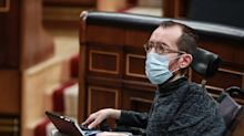 Echenique, condenado en firme a pagar 11.040 euros por la contratación irregular de su asistente