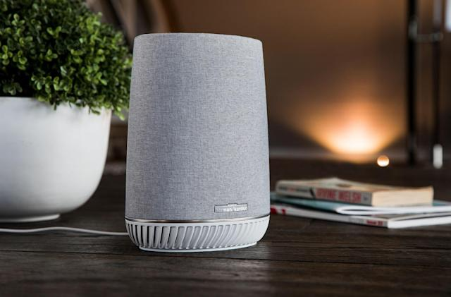Netgear and Harman Kardon's smart speaker doubles as a WiFi repeater