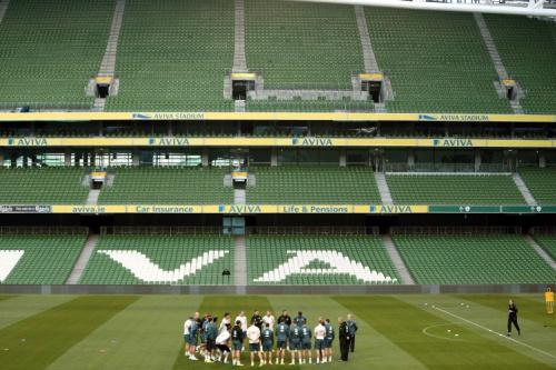 Empty seats, empty feeling as Ireland draw line under grim campaign