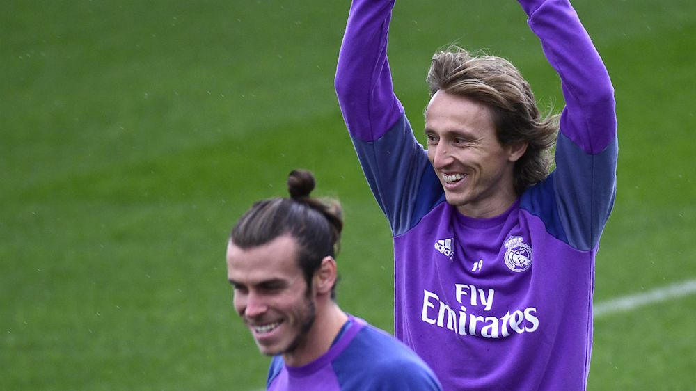 Modric y Bale se incorporan a los entrenamientos del Real Madrid en la vuelta al trabajo