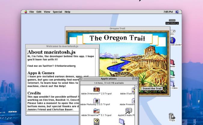 An app that runs Mac OS 8 on modern computers