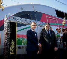 Macron in Morocco for opening of high-speed railway