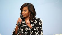 Michelle Obama has launched a new podcast - and her first guest is Barack