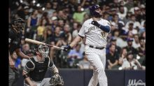 Rowdy Tellez's power surge lifts Brewers over White Sox