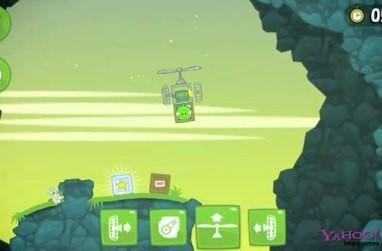 Bad Piggies will have you building custom vehicles for Angry Birds' piggies