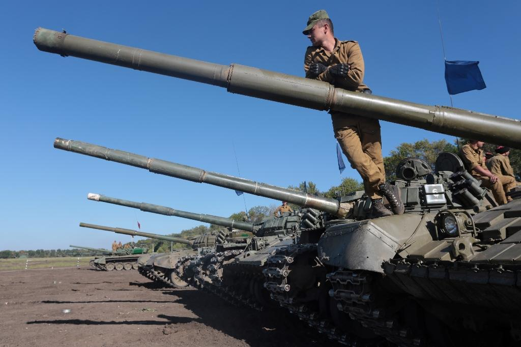 Negotiators for Kiev and the pro-Moscow rebels reached an agreement in September to demilitarise three frontline areas in eastern Ukraine, withdrawing heavy arms and fighters from the towns of Stanytsya Luganska as well as Zoloteand Petrovske