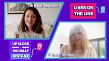 Revealing insight from Dr Katie Rogerson into how the coronavirus pandemic is impacting babies and children
