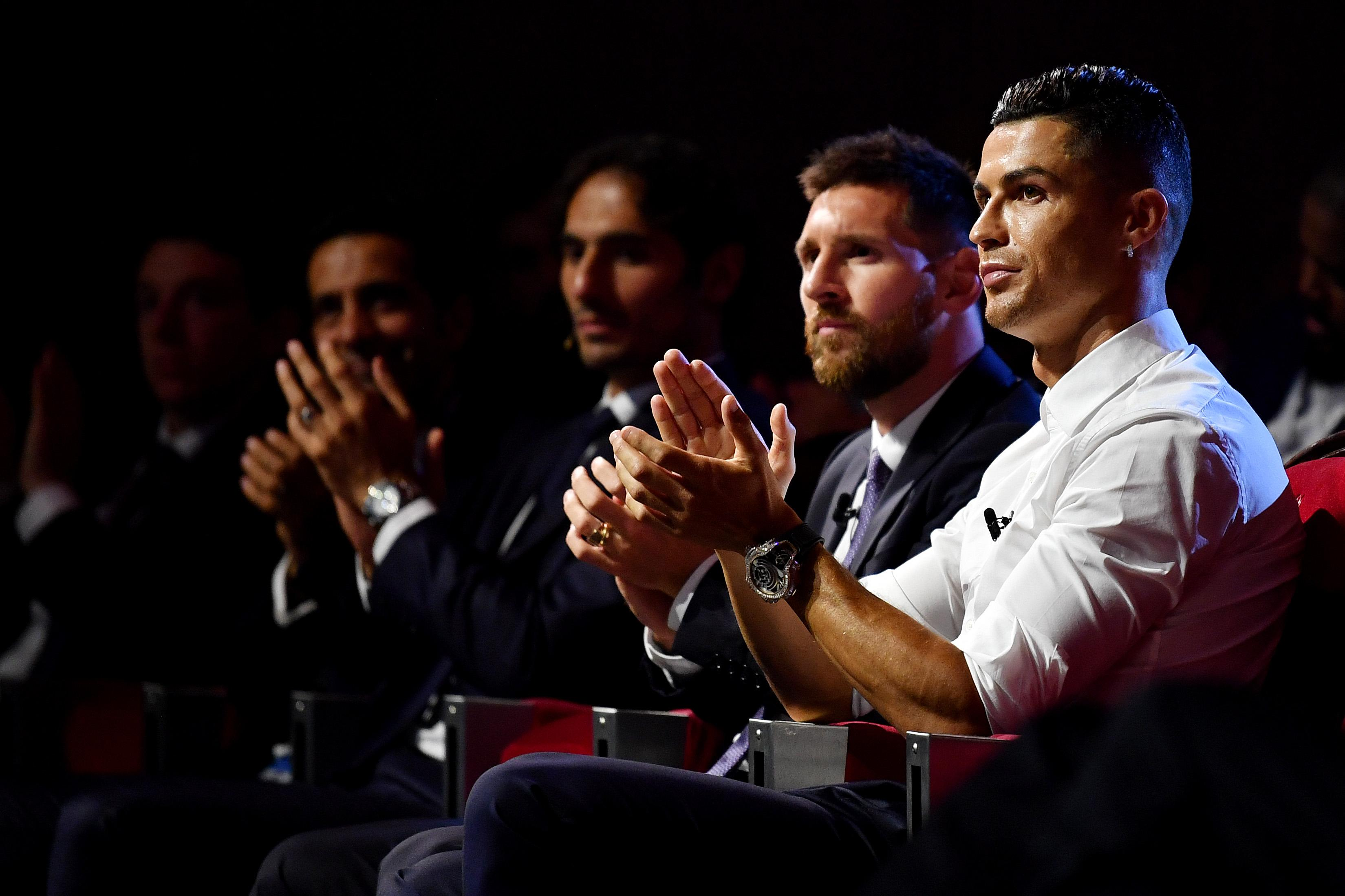 Champions League Draw Messi Ronaldo Highlights Group Stage