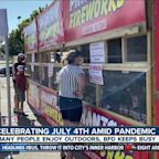 Celebrating July 4th amid pandemic