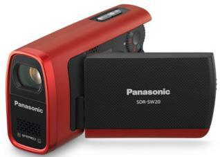 Panasonic intros SDR-SW20 / SDR-S7 SD-based camcorders