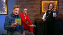 Conan Awkwardly Hits on Kate Upton While Playing Video Games