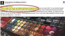 Un enfant aurait « détruit » du maquillage chez Sephora, mais qui est responsable des dégâts estimés à environ 1 100 euros ?
