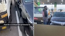 'He's in the lines': Why Toyota driver's parking is dividing opinion