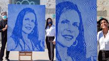 Gretchen vira obra de arte e vai parar em museu italiano